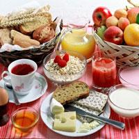 با خوردن صبحانه مفصل کالری بیشتری بسوزانید