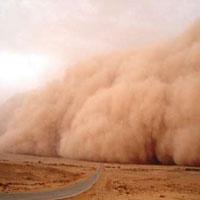 طوفانهای گرد و غبار سوغاتی تغییرات اقلیمی