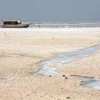 عکس/ بلای وحشتناکی که سدسازی بر سر دریاچه ارومیه آورد