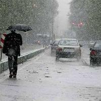 بارش باران در 9 استان طی امروز