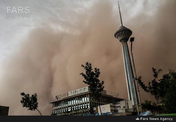توفان سیاه تهران