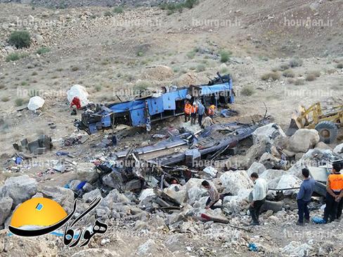 کشته شدن ۱۹ سرباز در تصادف