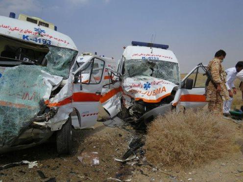 تصادف دو آمبولانس