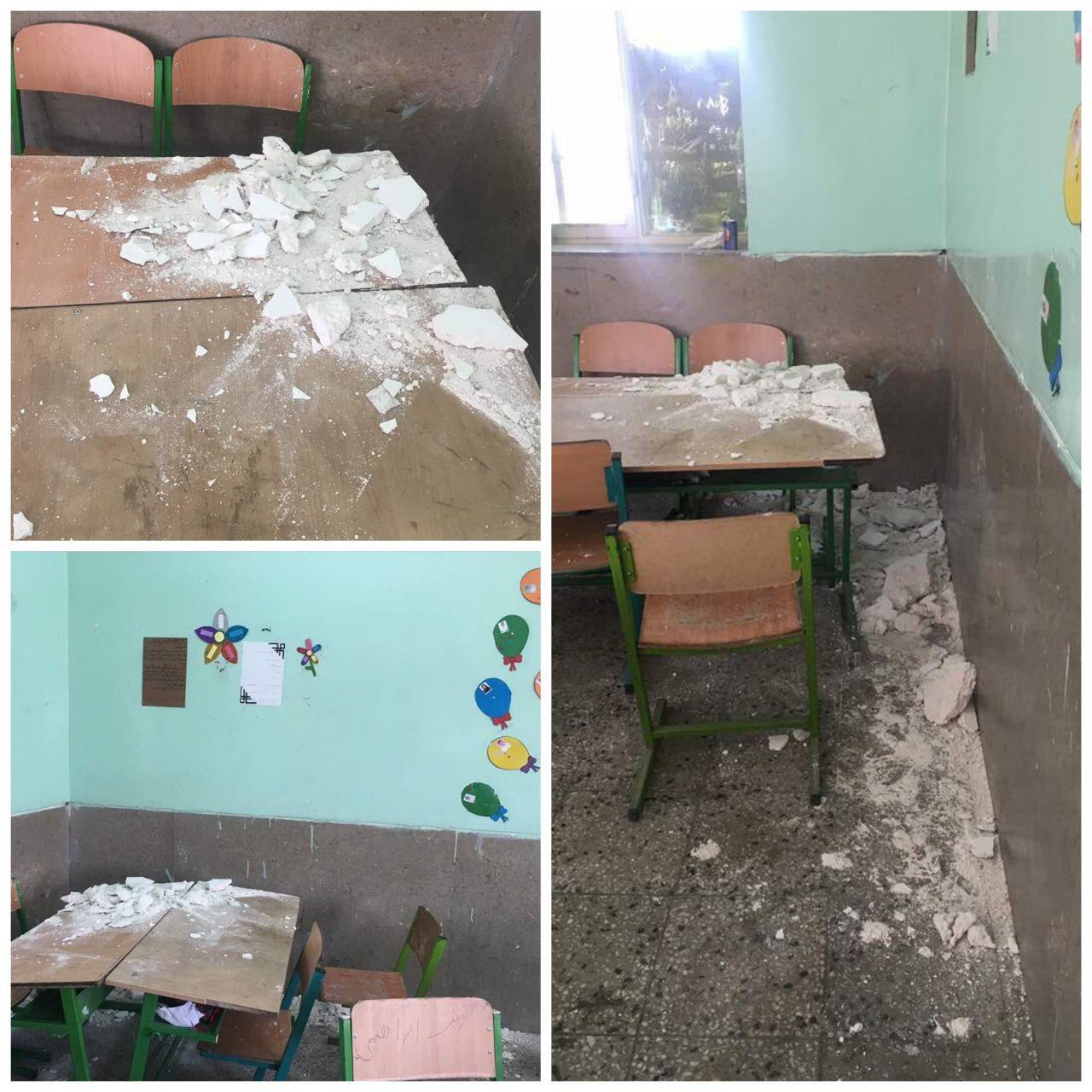 up 823f56e583d91133abc4b0dc5e5084e7 عکس/ریزش سقف مدرسه ای در «دیر» بوشهر   حوادث سلامت