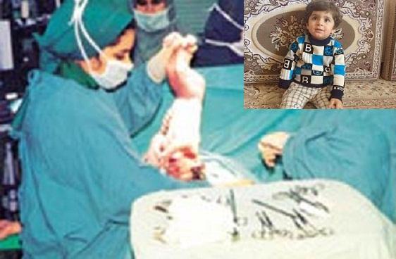قصور پزشکی وقلج شدن کودک